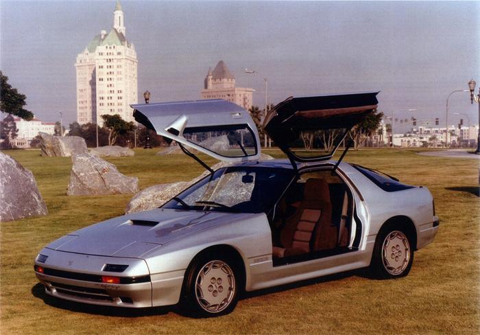 1987 Mazda Rx7 Turbo 2 Door Sedan